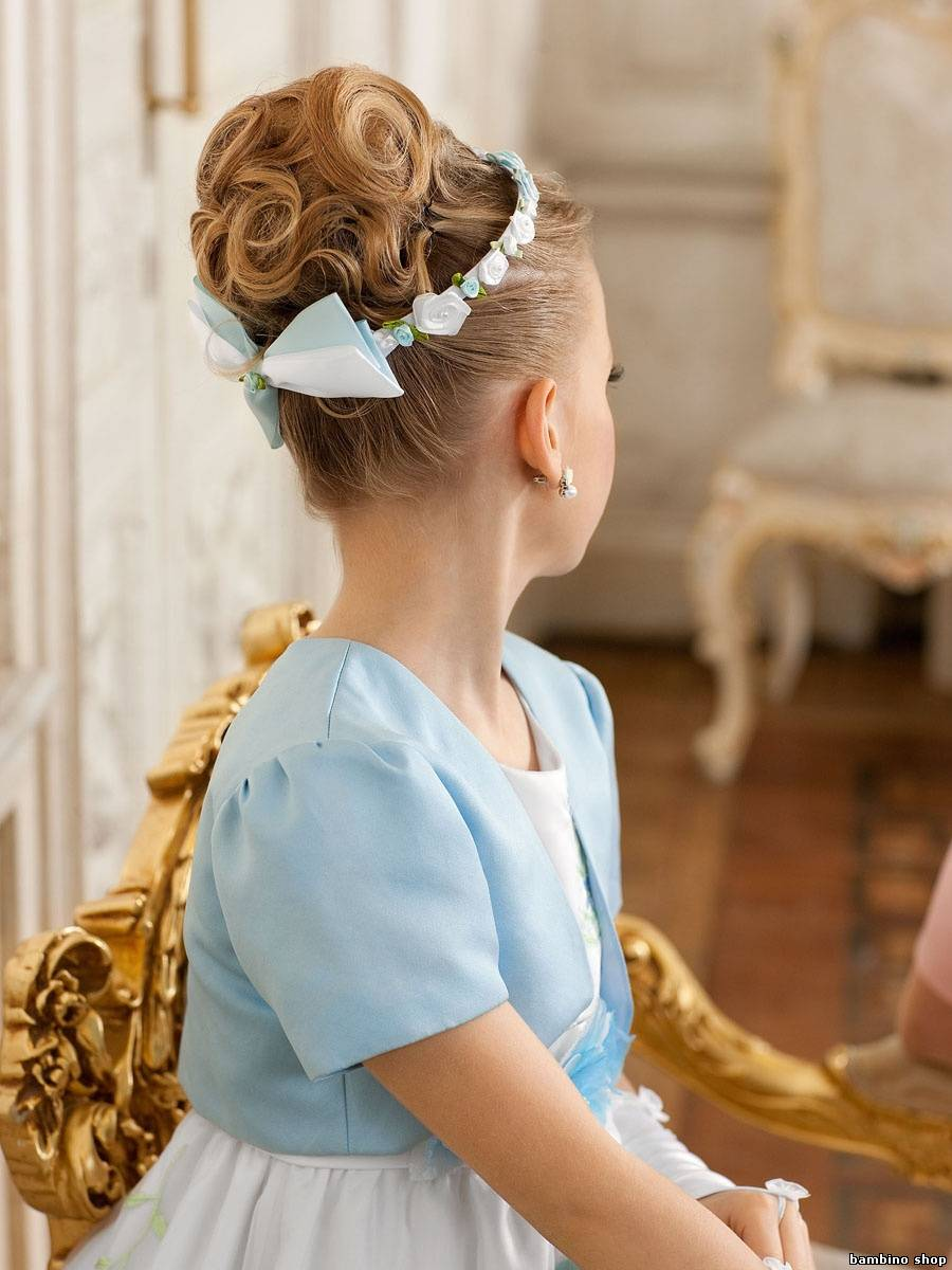 Украшение на волосы для девочек своими руками 765